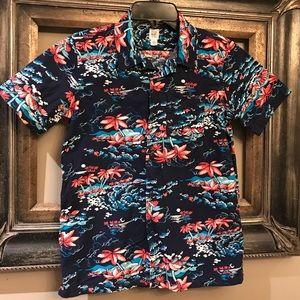 Boys Gap Hawaiian  shirt size 10 GUC